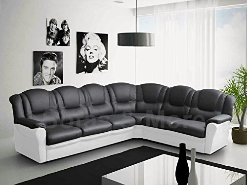 texas-big-corner-sofa-suite-black-and-white-faux-leather