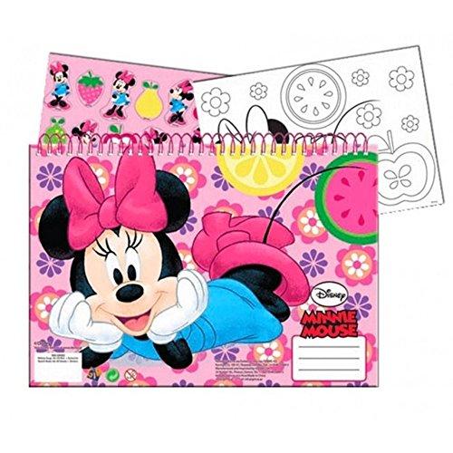 Specifiche di disegno, libro da colorare a4 + adesivi minnie