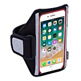 Sporteer Classic MX Armband for iPhone 8 Plus, 7 Plus, 6 Plus, Galaxy S9 Plus, Galaxy S8 Plus, S8 Active, Note 5, Pixel 2 XL, Xperia XZ2, LG V30, V20, Moto G5S Plus, Z2 Play, and Other Large Phones