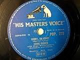 """78 rpm 10"""" EDDIE FISHER cindy oh cindy / fanny"""