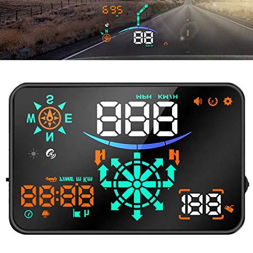 TOOGOO H8 Universal Hud Auto Head-Up Display Windschutzscheibe Geschwindigkeit Projektor GPS Navigation Intelligente Geschwindigkeit Wassertemperatur Sicherheit Alarm
