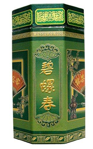 250g Green Tea - Bi Lou Chun Spring Crop Tea in Caddy, Loose Whole Leaf - Pi Lo Chun