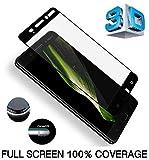 Nokia 6en verre trempé, Nokia 6protection d'écran, par Dn-alive [Installation facile] [Bubble Gratuit] [Compatible avec Nokia 6Coque] [haute définition] [9H Dureté] [anti-rayures] [incassable] Protection d'écran en verre trempé