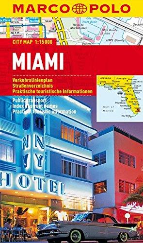 Preisvergleich Produktbild MARCO POLO Cityplan Miami 1:15 000 (MARCO POLO Citypläne)