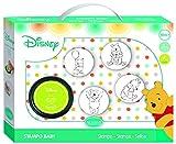 Unbekannt ALADINE 3061001 Disney Puuh Stampo Baby Winnie Pooh, Stempelset