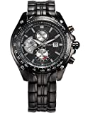 CURREN Expedition Analogue Black Dial Mens Watch - CUR022