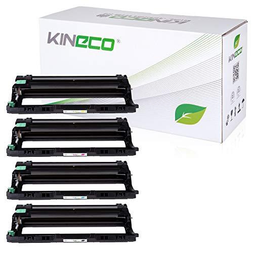 Kineco 4 Trommeln kompatibel für Brother DR-241CL DCP-9020CDW HL-3140 CW 3170 3150 CDW CDN MFC-9130 CW 9140 CDN 9330 9340 CDW