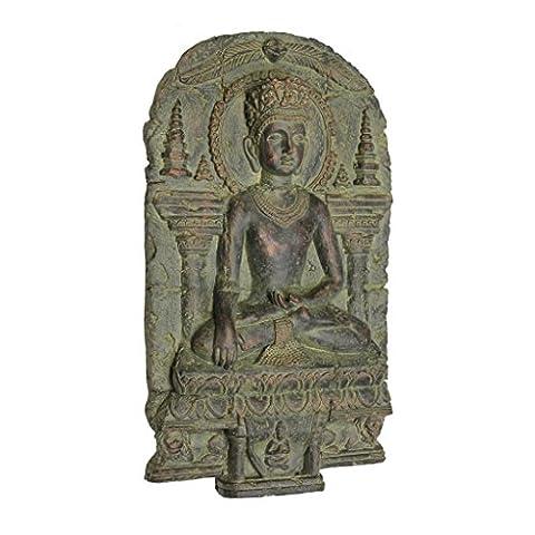 Design Toscano Earth Witness Buddha Wall Sculpture (c. 900-1200 A.D.)