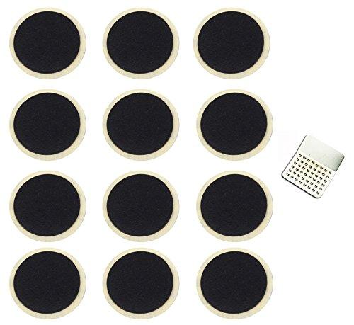 [No requiere pegamento] EX1 Bici Neumático Punción Reparar Adhesivo Parche Kit (12 Piezas)