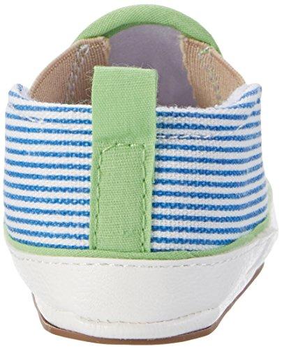 Sterntaler  Baby-schuh, Chaussons pour enfant bébé garçon Grün (Sommergrün)