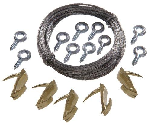 Cobra-kit (Hillman 122396Cobra Medium Wand Biter Bild Haken zum Aufhängen Kit 15lbs-20lbs, 16-teilig)