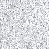 Fabulous Fabrics Tüllspitze Perlenstickerei - Weiss -
