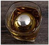 Ecentaur Whisky Steine Edelstahl Eiswürfel Wiederverwendbare Whiskysteine Kühlsteine