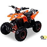 Kinder Elektro Quad S-5 Polaris Style 1000 Watt Miniquad orange