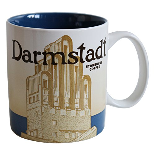 Starbucks City Mug Icon Serie Germany Coffee Cup Darmstadt Pott Kaffeetasse