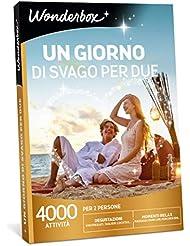 WONDERBOX Cofanetto Regalo - Un Giorno di Svago per Due - 4000 attività per 2 Persone
