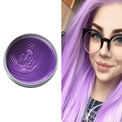 Fascigirl Haarfarbe Wachs, HaarfäRbe Mittel Wachs DIY TemporäRe Modellierung HaarfäRbe Mittel Creme Haarstyling Produkt