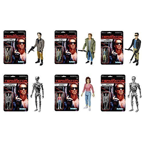 Terminator (Set of 6) Funko ReAction 3 3/4-Inch Retro Action Figure Super7 by TaiChoKen
