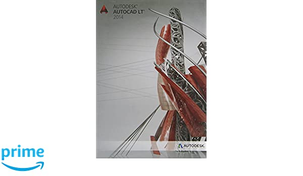 Autodesk AutoCAD LT 2014 Single Licence with 1 year Subscription (PC