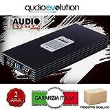 AUDIO SYSTEM AS4120 AMPLIFICATORE 2/4 CANALI CON CROSSOVER ATTIVO 120X4 WATT CLASSE A/B RMS PONTICELLABILE