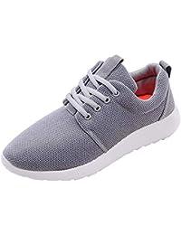 Mujer zapatos de malla correa,Sonnena ❤️ Zapatos tejidos voladores de la moda de las mujeres Zapatillas de deporte de entrenamiento casuales Zapatillas de deporte de gimnasio