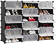 18 Cubes Diy Shoes Wardrobe Storage Shoe Rack Shoe Tower Storage Cabinet Shoe Organizer Storage Organizer Modular Shoe Cabin
