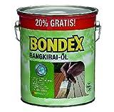 3 L Bondex Bangkirai Öl 7121 Bangkirai