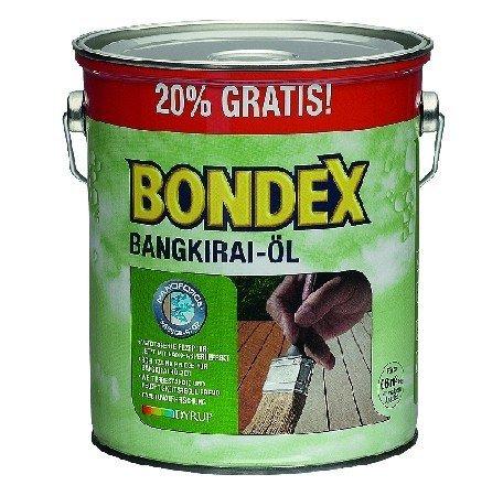 Preisvergleich Produktbild 3 L Bondex Bangkirai Öl 7121 Bangkirai