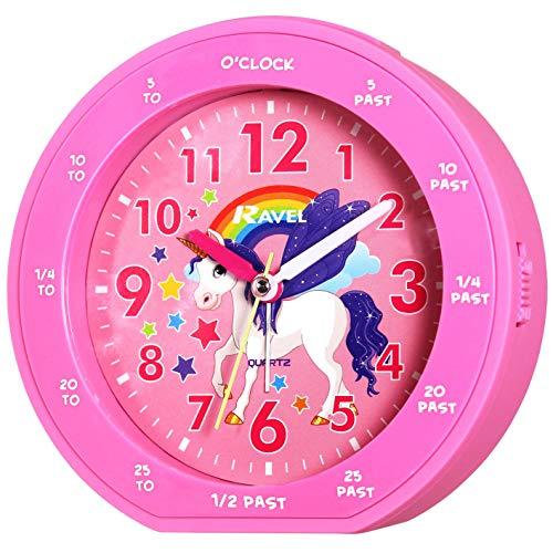 Ravel - Reloj Despertador Infantil con diseño de Unicornio