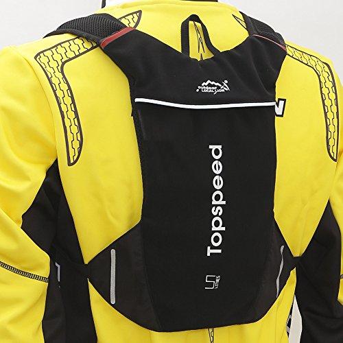 Reiten 2L Reiten für outdoor Rucksäcke Fahrrad Taschen Rucksäcke Black