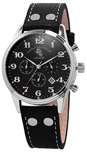 Grafenberg - Herren -Armbanduhr- SD502-122_schwarz-40