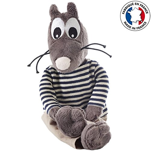 Smarty le rat - Peluche Smarty le rat 35cm