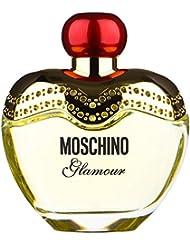Moschino Glamour pour Des Femme Coffret - 100 ml Eau de Parfum Vaporisateur + 100 ml Lotion Pour Le Corps + 100...