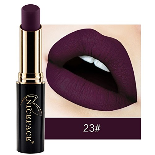 Lippenstift Mit Lipliner,EUZeoFrauen Lippenstift Lip Matte flüssiger Lippenstift wasserdichte Lip Gloss Make up 24 Farben Fashionable Colors Long Lasting Lipsticks (K2)