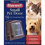 Staywell 730 gatto/cane con patta con chiusura a chiave per porta colore Marrone