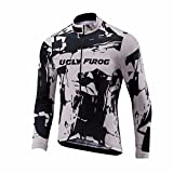 Uglyfrog Bike Wear Uomo Ciclismo Magliette Jersey Manica Lunga Mountain Top Cycling Primavera Traspirante Abbigliamento