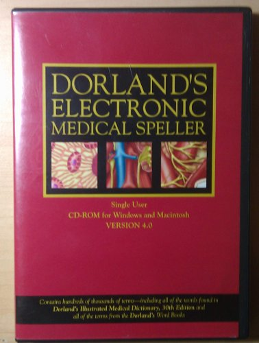 Dorland's Electronic Medical Speller CD-ROM Version 4.0 (Dorland's Medical Dictionary)