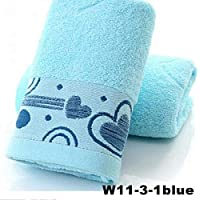 PWTY Conciso 3 Unids / 1 Set 100% Pure Toalla De Algodón Uso Multiuso para Baño Yoga Hombres Mujeres Baño Toalla De Viaje 32X73 Cm, 2,32X73 Cm