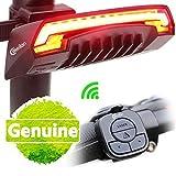 XNRHH Neue Charme Blaue X5 Intelligente Drahtlose Fernsteuerungs-Fahrrad-Rücklichter Drehen Signale USB-aufladende LED-Lichter