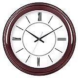 JYT-GZ Decoración del hogar Personalidad Creativa Reloj Sala de Estar Reloj Creativo Circular con silenciamiento Reloj de Cuarzo electrónico (Color: B) Accesorios de Moda para el hogar (Color : C)