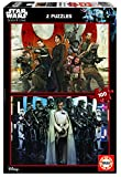 Educa 17012 - 2 x 100 Rogue One Star Wars Puzzle