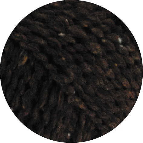 Lana Grossa Royal Tweed 009 Dunkelbraun meliert (Tweed Fine)