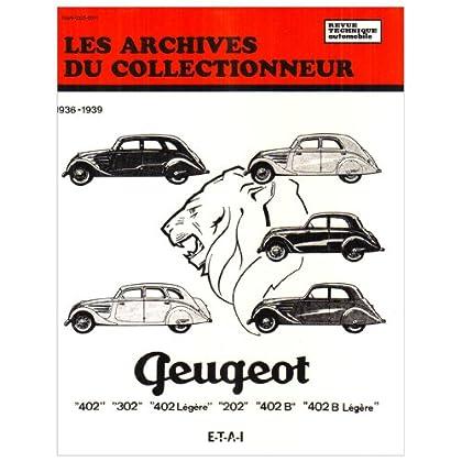 Les archives du collectionneur N°9 Revue Technique Automobile Peugeot 202 - 302 - 402 et Boite Cotal (36/39)