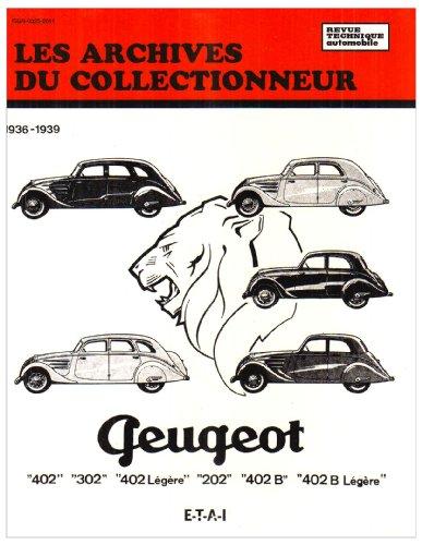 Les archives du collectionneur N°9 Revue Technique Automobile Peugeot 202 – 302 – 402 et Boite Cotal (36/39)