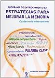 Programa de Entrenamiento en Estrategias para Mejorar la Memoria. PEEM (Cuaderno) (EOS Psicología)