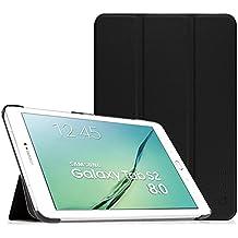 Fintie Samsung Galaxy Tab S2 8.0 Funda - Slim Fit Smart Funda Carcasa con Stand Función y Imán Incorporado para el Sueño/Estela para Samsung Galaxy Tab S2 8.0 pulgadas (Negro)