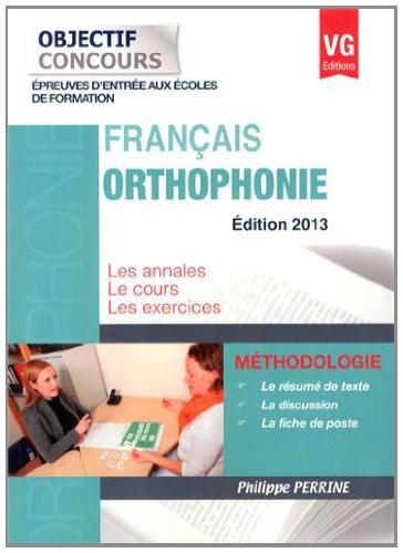 Français Orthophonie
