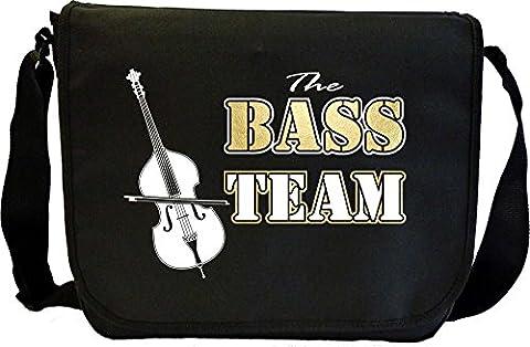 Double Bass Team - Sheet Music Document Bag Sacoche de Musique MusicaliTee