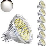 Lampadine LED MR16 GU 5.3 12V 5W Equivalente a 35W Lampada Alogena GU5.3 4000K Bianco Neutro 420LM Faretti Luce Non-Dimmerabile (Confezione da 6)