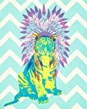 Telecharger Livres Wheatpaste Art Collective Port Ceremonial Tigre electrique par WP Maison sur toile murale Art 24 par 76 2 cm (PDF,EPUB,MOBI) gratuits en Francaise